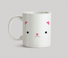 CatFace Cat Face Mug